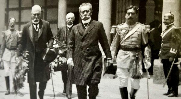 Porfirio Díaz y Benito Juárez Maza.