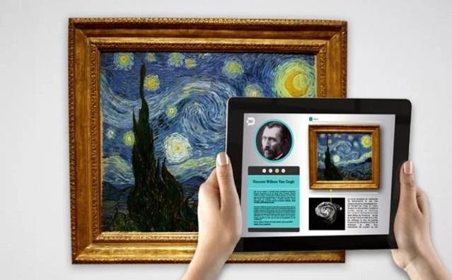 realidad aumentada en Museo