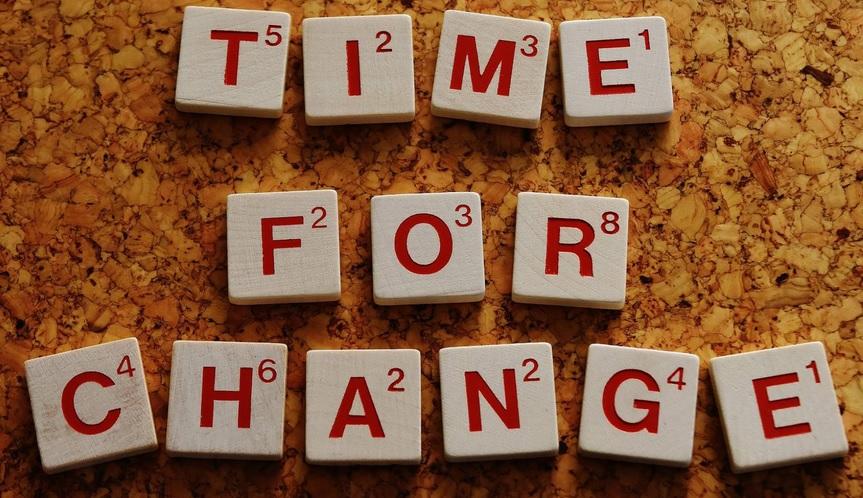 tiempo para cambiar