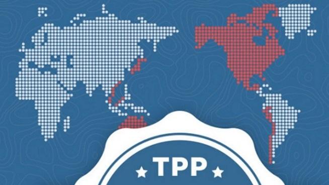 Países del TPP.