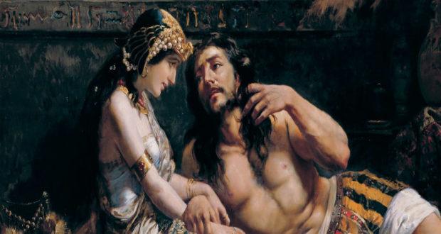 Sansón y Dalila.