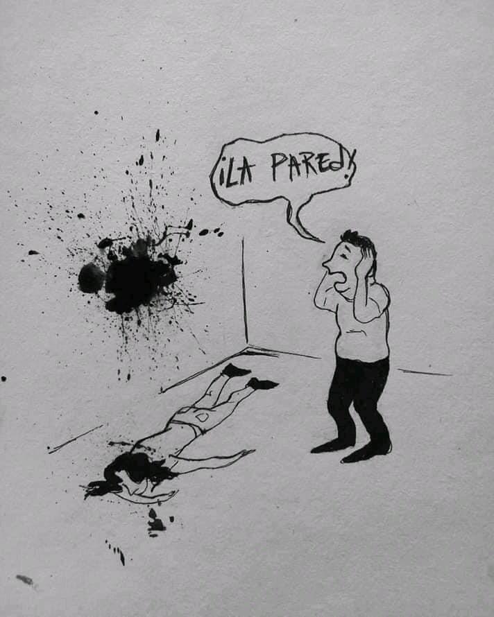 femenicidio caricatura