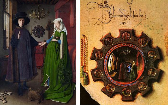 Johannes d' Eyck fuit hic.