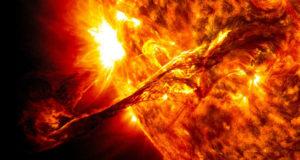 Furia solar.