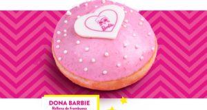 La dulzura de la muñeca Barbie conquista Krispy Kreme
