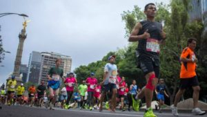 Claudia Sheinbaum maraton cdmx