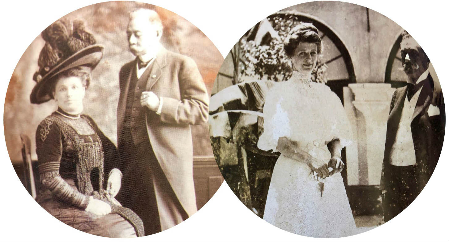María Klerian y Benito Juárez Maza.