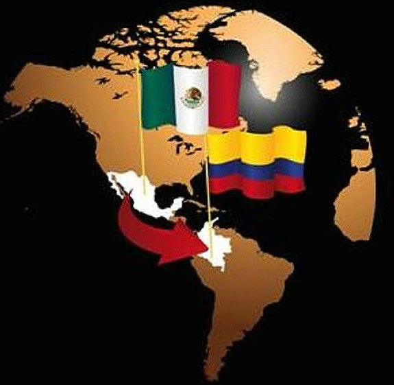 México y Colombia.