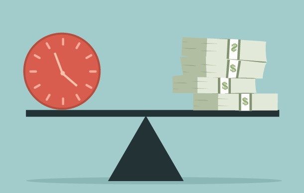 Tiempo y dinero.