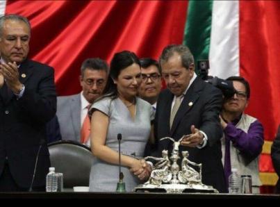Laura Angélica Rojas, nueva presidenta de la Cámara de Diputados