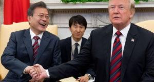 Moon y Trump