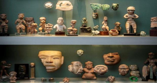 subasta de piezas de origen Olmeca y Maya