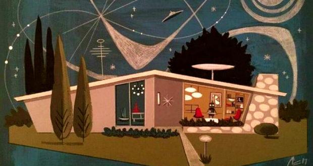 Casa futurista.