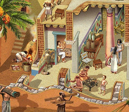 Evolución de casas.