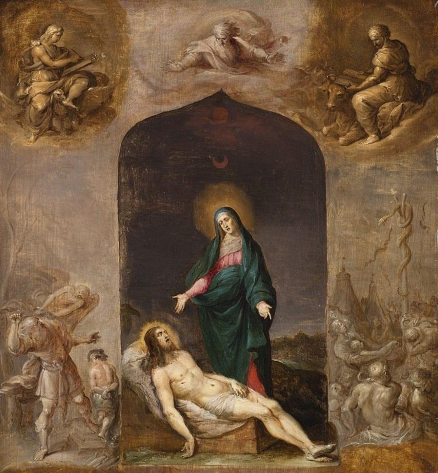 Pintura sacra.