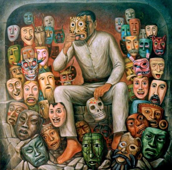El Hombre de las máscaras.