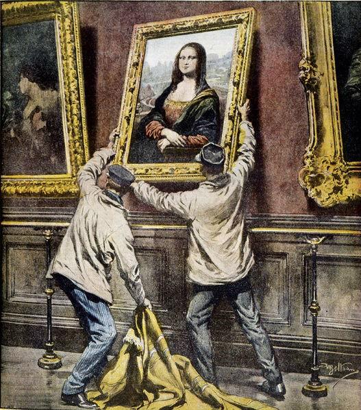 Robo de La Mona Lisa.