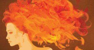 Mujer en llamas.