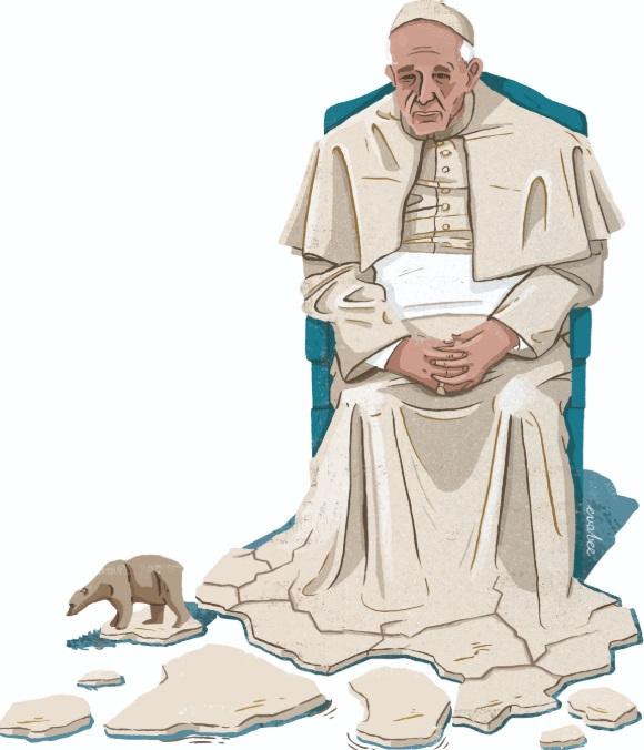 Papa y cambio climático.