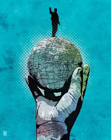 Globalización política.