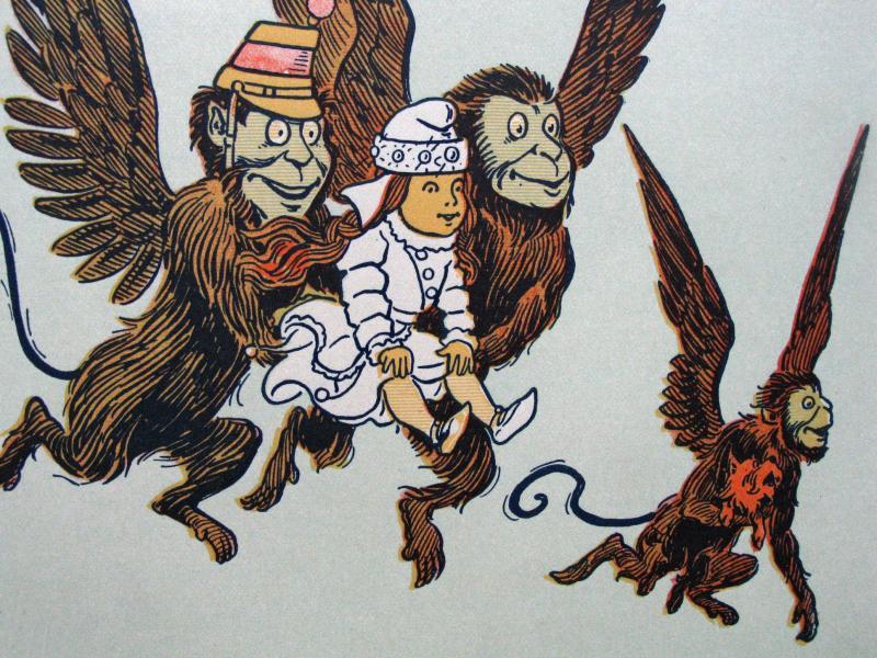 Monos alados.