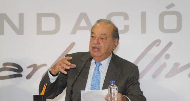 Carlos Slim anuncia inversión en México