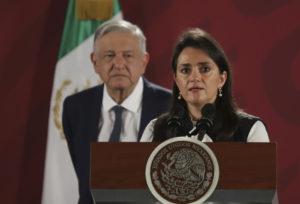 Margarita Ríos-Farjat, jefa del SAT
