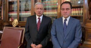 secretario de Hacienda, Arturo Herrera, con AMLO