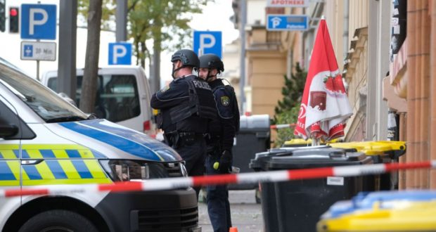 Ataque a sinagoga en Alemania
