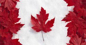 Canadá hoja de maple