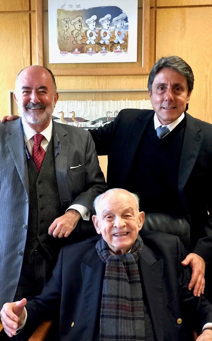 Lorenzo Servitje Sendra, Antonio M. Prida y Roberto Shapiro