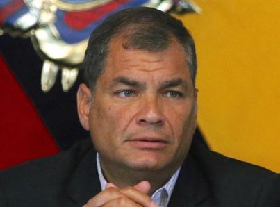 Expresidente de Ecuador, Rafael Correa