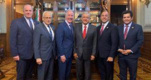 Reunión de López Obrador con legisladores de Estados Unidos