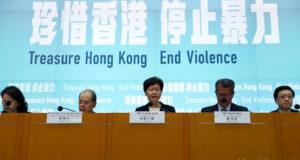 Hong Kong_manidestaciones