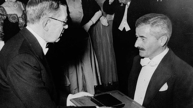 William Faulkner, premio Nobel.