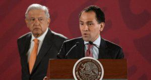 Presidente Andrés Manuel López Obrador y Arturo Herrera, secretario de Hacienda