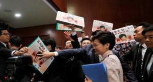 discurso ante Parlamento Hong