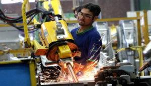 sector manufacturero en agosto/
