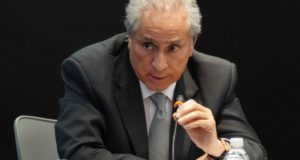 Joel Ayala presidente de la Federación de Sindicatos de Trabajadores al Servicio del Estado