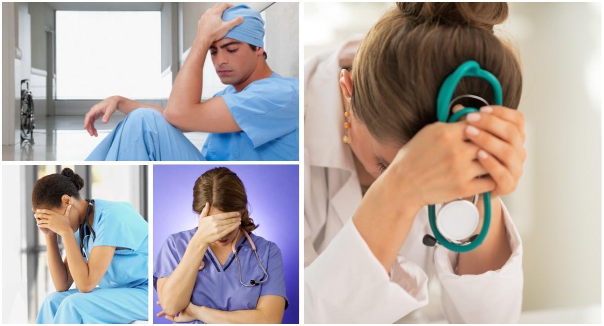 Médicos deprimidos.