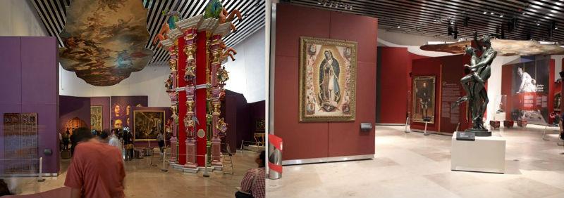 Museo Internacional de Arte Barroco en Puebla.