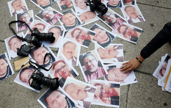 Censura y desaparición de periodistas.
