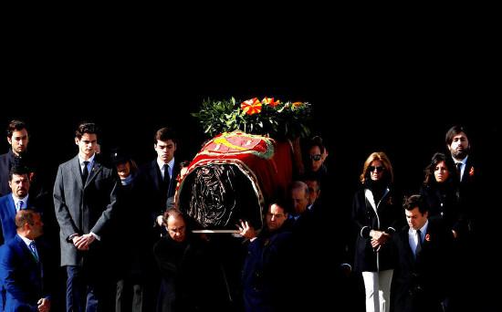 Exhumación de Francisco Franco.
