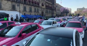 bloqueos de taxistas en la Ciudad de México