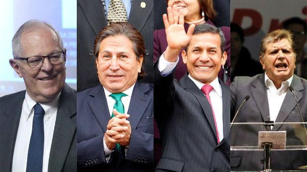 Presidentes de Perú.