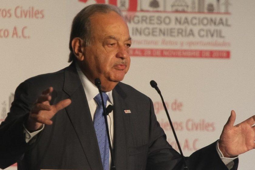 Carlos Slim respalda a AMLO