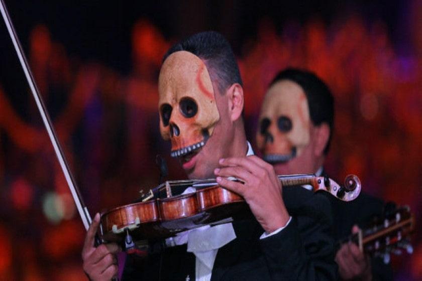 Festejos del Día de Muertos en la Ciudad de México