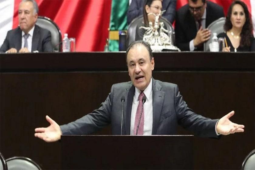 Alfonso Durazo comparece en La Cámara de Diputados sobre Culiacán