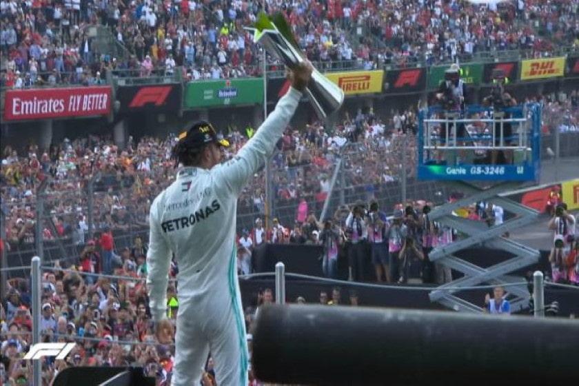 Ganador de la F1 en México 2019