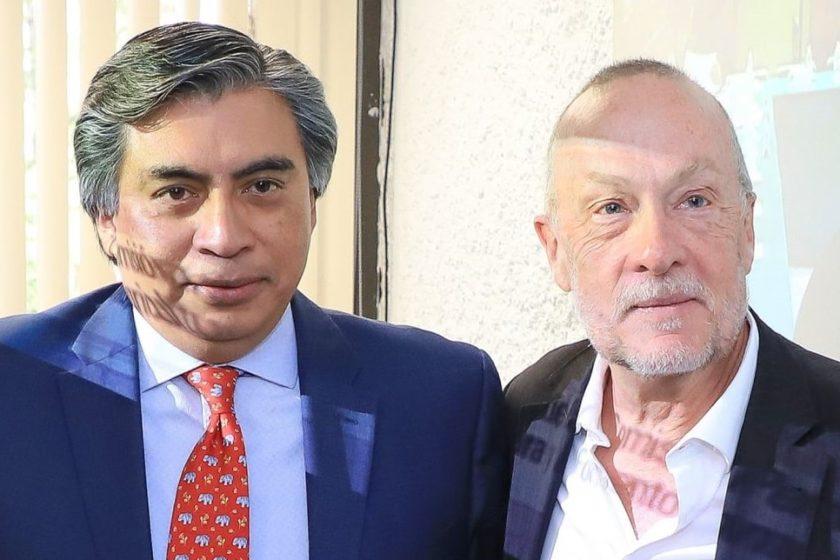 Jonathan Heath y Gerardo Esquivel